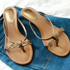 {  Guess } · Sandals ·